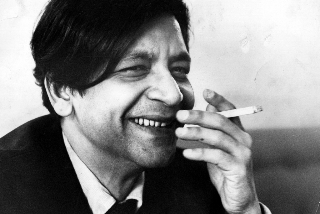V.S. Naipaul, seen here in 1968, once told NPR,