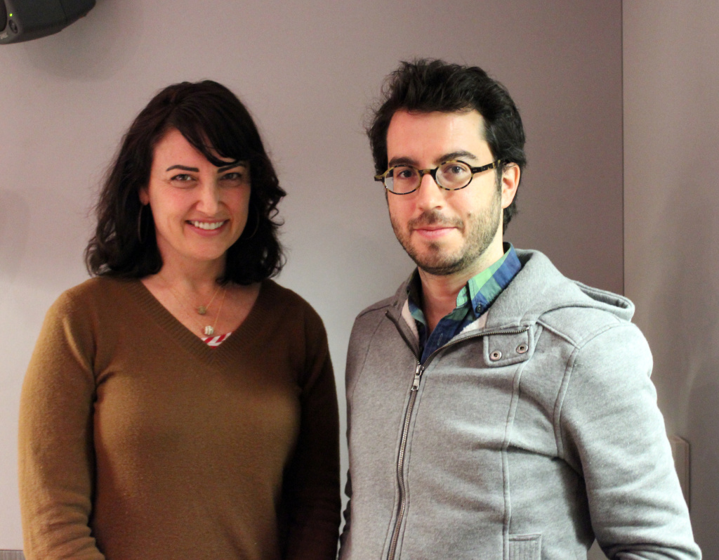 Author Jonathan Safran Foer visits the Madeleine Brand Show on March 14, 2012.