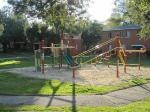 A Between Buildings Playground At The Wyvernwood Complex February 2017