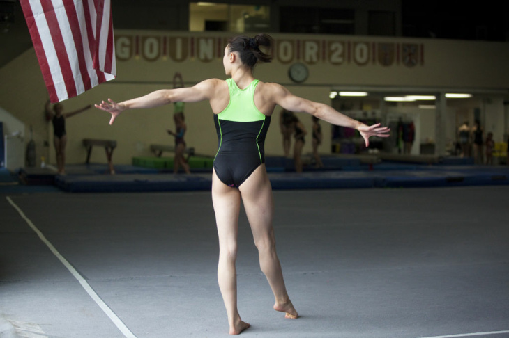 Kayla Ross - Gymnast heads to 2012 Summer Olympics with Team USA