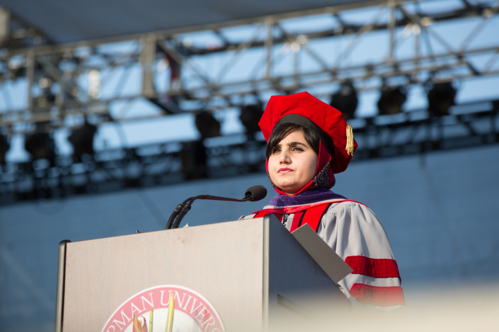 Chapman Law School Afghan Women Graduation