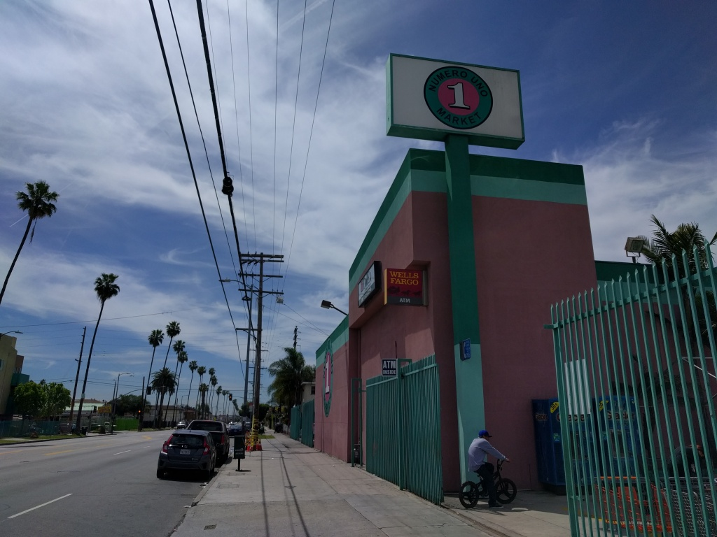 The former site of Empire Liquor is now a Latino grocery store.