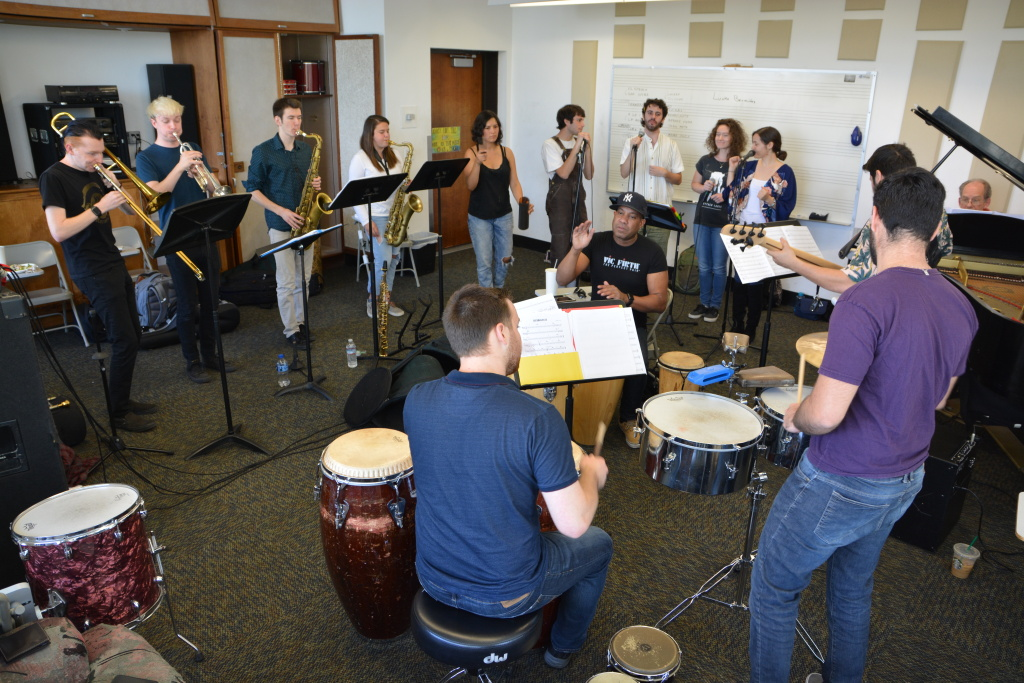 The CalArts Salsa Band was founded 27 years ago.