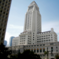 LA City Hall Tilt Shift