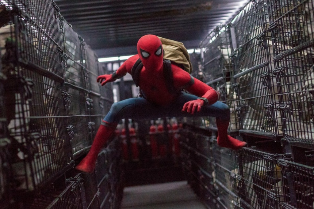 Tom Holland stars as Spider-Man in Columbia Pictures