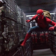 "Tom Holland stars as Spider-Man in Columbia Pictures ""Spider-Man: Homecoming."""