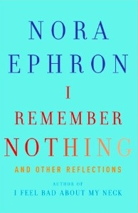 Nora Ephron gives readers a hilarious glimpse at her own upbringing, divorces, and life as a successful, yet normal, woman in her new book