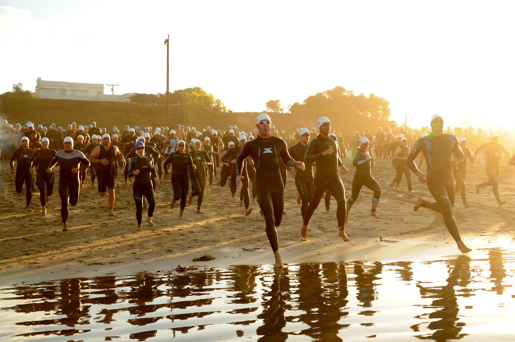 File: A general view of atmosphere during the Nautica Malibu Triathlon presented by Equinox on Sept. 8, 2013 in Malibu.