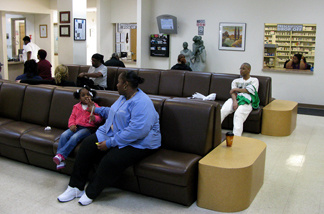 The Booker Family Health Clinic, one of 60 clinics that make up the Access Community Health Network in the Chicago area.