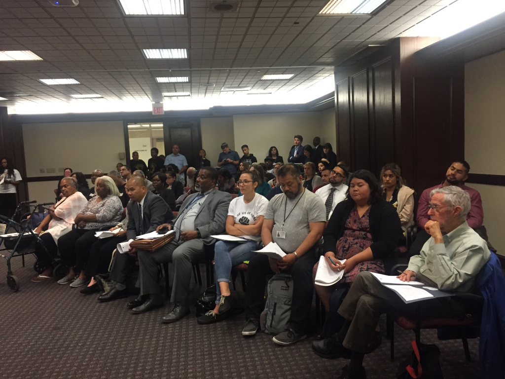 Over 50 members of the public attended the May 23 meeting. Some of them were formerly incarcerated activists who mentioned the confidential county report during public comment.
