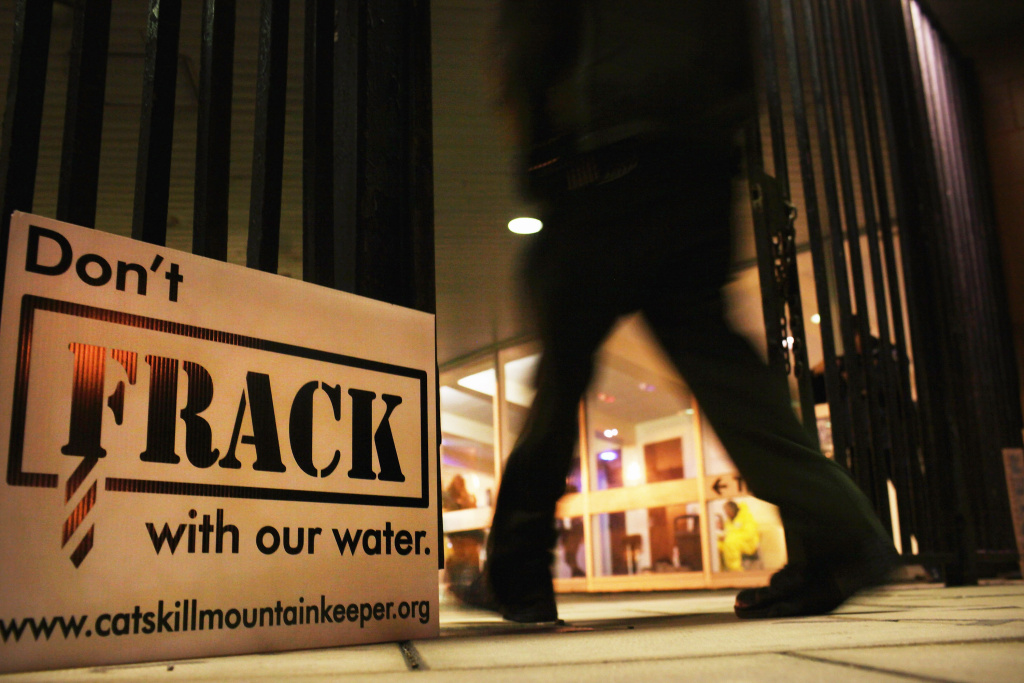 Fracking gained notoriety first for negative publicity about the practice's use in the Catskill Mountains.