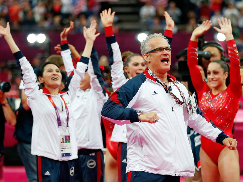 Former USA Gymnastics coach John Geddert seen above during the 2012 Summer Olympics in London.