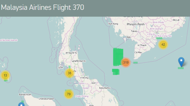 Tomnod, a crowdsourced website which asks users to help identify objects in satellite issues, is attempting to help with the search for Flight 370