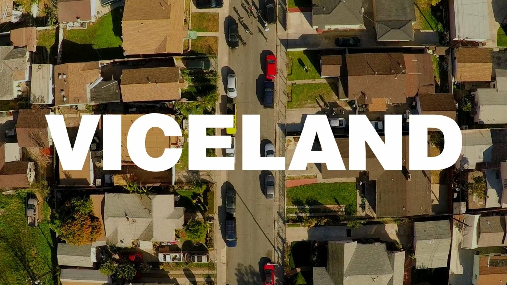 Cover art for the VICELAND show on HBO