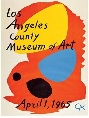 The poster for LACMA's 1965 Calder exhibit.