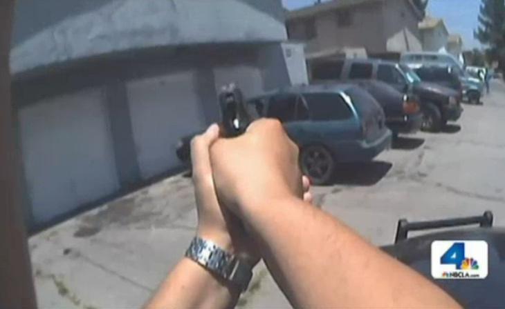 LAPD cops could soon test lapel body cameras.