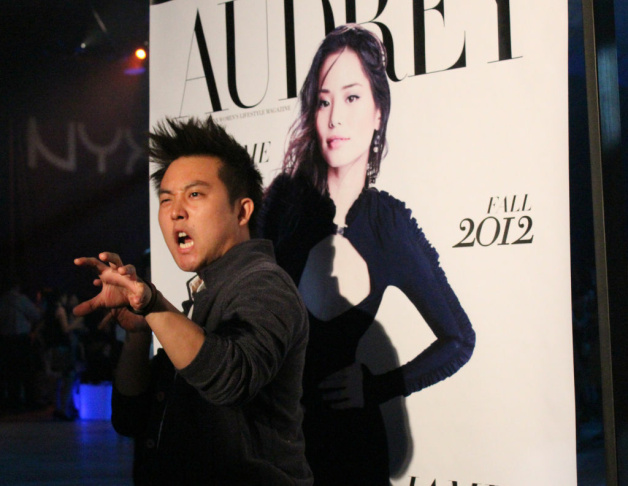 R&B recording group Legaci sang their hearts out at Audrey's Night Out on Sept. 15, 2012.