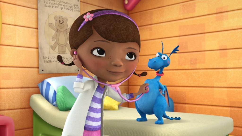 Still from the Disney Jr. show Doc McStuffins