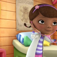 Doc McStuffins with Stuffy