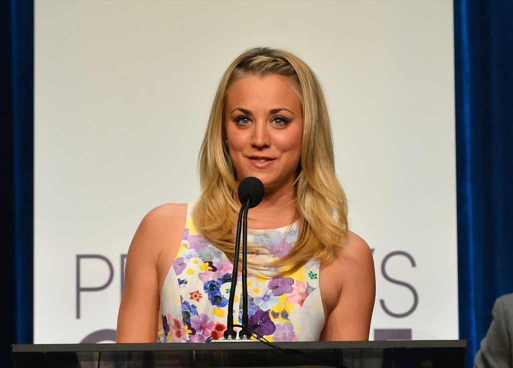 Actress Kaley Cuoco attends the People's Choice Awards 2013 Nominations Press Conference at The Paley Center for Media on November 15, 2012 in Beverly Hills. She's hosting the awards for the second year in a row.