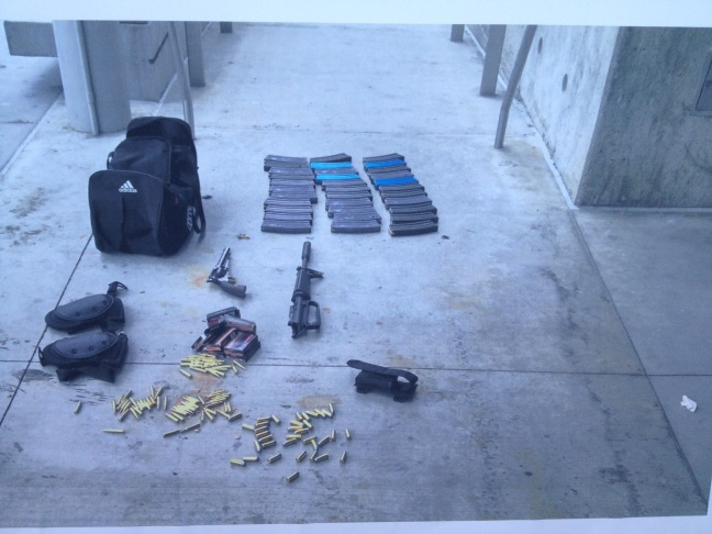 Santa Monica Shooting: Evidence