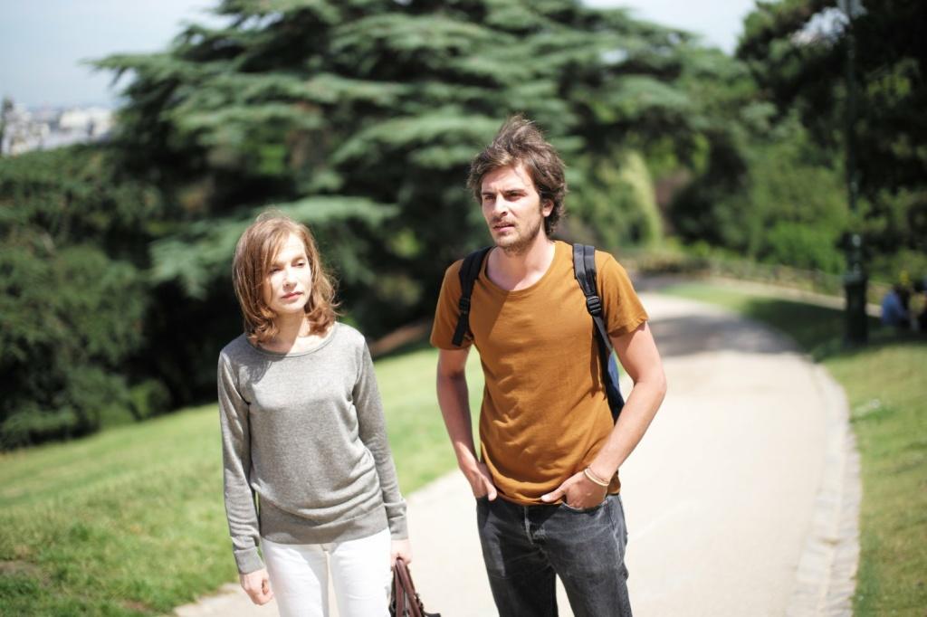 Isabelle Huppert and Roman Kolinka in