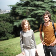 "Isabelle Huppert and Roman Kolinka in ""Things To Come."""