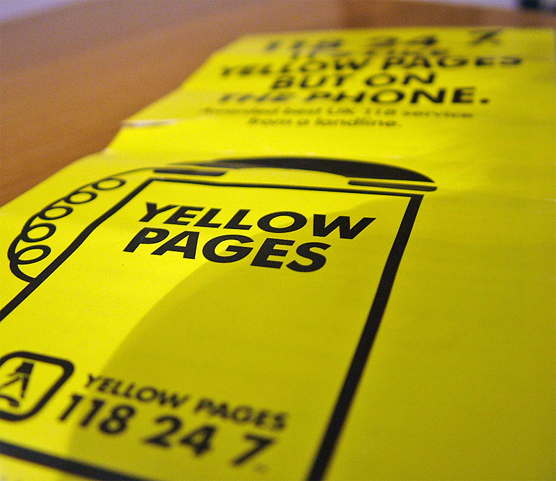 The Yellow Pages.