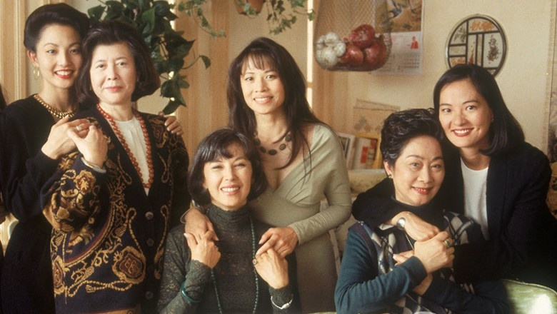 The cast of Hollywood Pictures' 1993 film THE JOY LUCK CLUB.