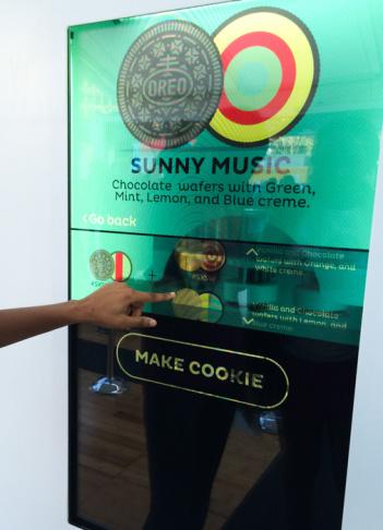 SXSW oreo 3d printing cookies