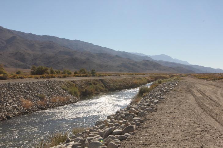 Aqueduct intake ditch