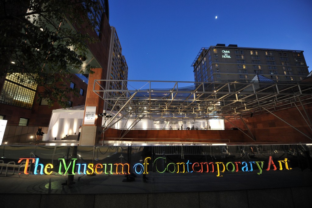 MOCA's Grand Avenue location in downtown Los Angeles. Museum trustees are betting they can improve its finances by increasing its endowment.