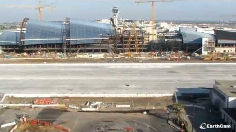 Official LAX Bradley Terminal Renovation Time-Lapse
