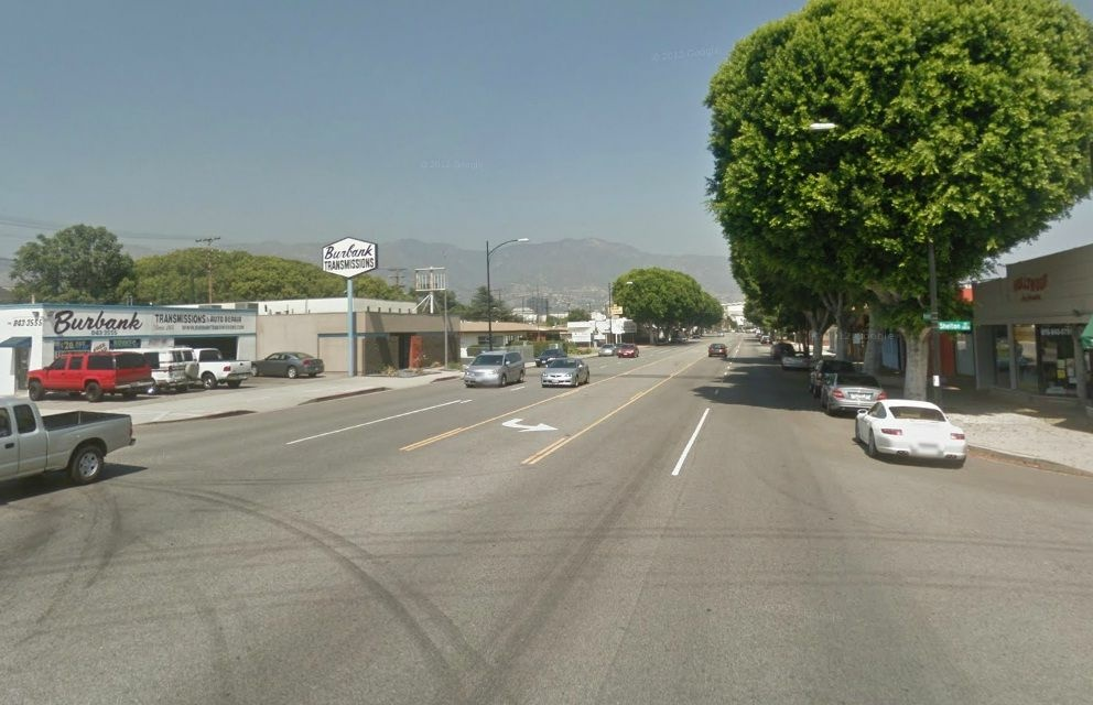 A Google Maps screenshot of the 1200 block on Magnolia Boulevard.