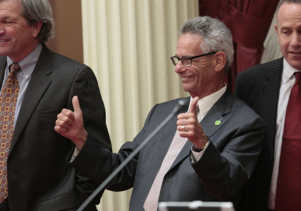 Alan Lowenthal (D-Long Beach) fought for redistricting reform when he served in the state legislature