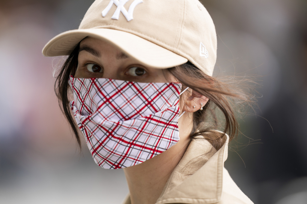The CDC says that when it comes to cloth masks, multiple layers made of higher thread counts do a better job of protecting the wearer.