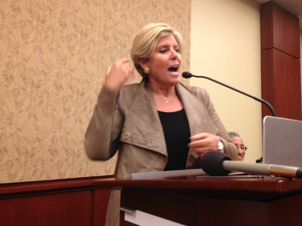 MSNBC financial guru Suze Orman wants relief for college graduates facing debt from student loans.