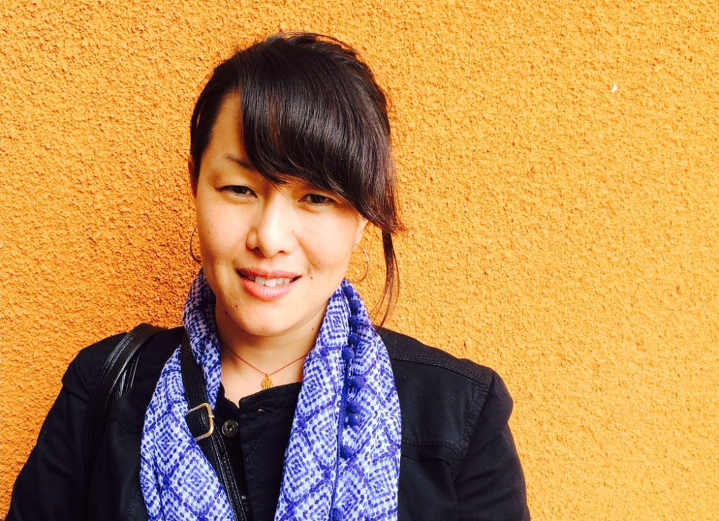Nicky Sa-eun Schildkraut, 37, was adopted from South Korea and grew up in the U.S. She now lives in Los Angeles and is a poet and teacher.
