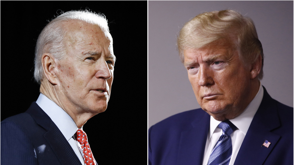 Former Vice President Joe Biden and President Trump are currently set to debate three times.