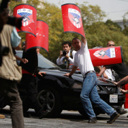 National Socialist Movement Holds Rally In Los Angeles
