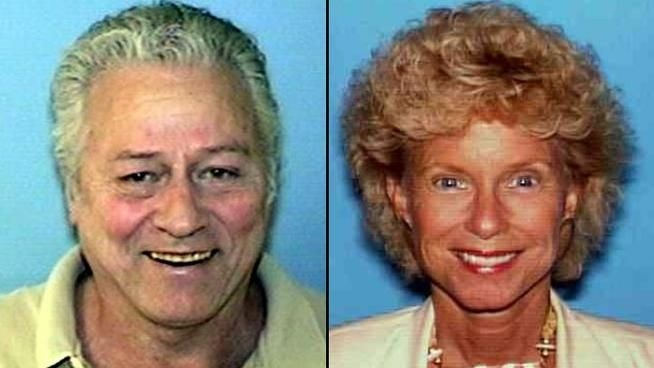 Police say Paul Porter, left, murdered Janice Somple in her Simi Valley home before dying of a heart attack on Thursday, May 31, 2012.