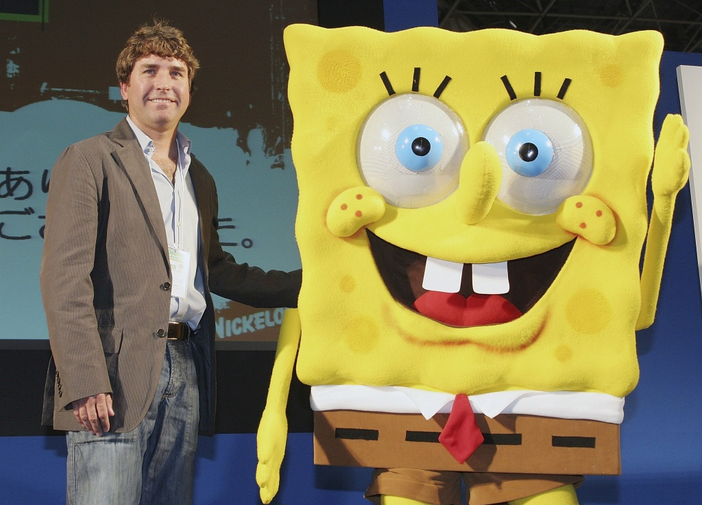 Stephen Hillenburg, the writer of a U.S. cartoon