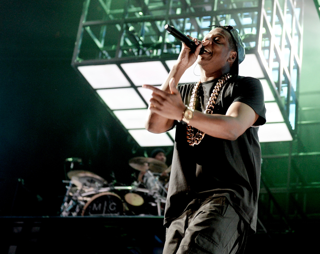 Jay Z Performs Live At Staples Center