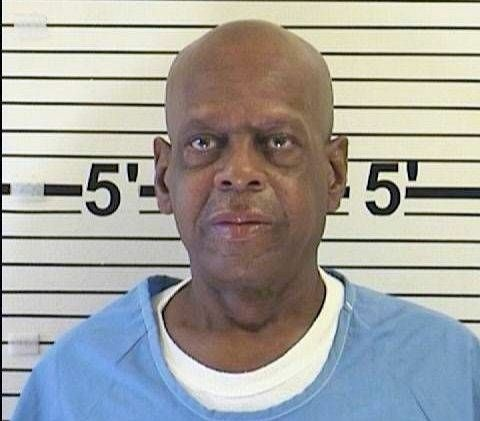 Kenneth Corley's mug shot. Corley was the first nonviolent offender to be released from prison under Prop 36.