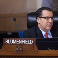 Los Angeles City Councilman Bob Blumenfield
