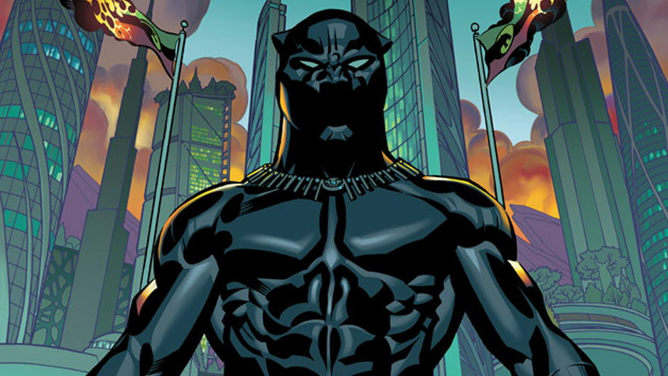 The Black Panther #1 cover by artist Brian Stelfreeze. The new series of Black Panther comics will be written by author Ta-Nehisi Coates.