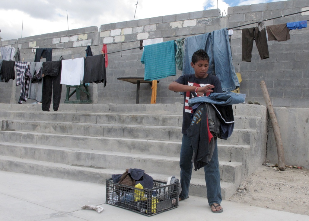 Brian Duran, 14, of Comayagua, Honduras plans to travel alone to the U.S.-Mexico border, becoming one of the more than 52,000 unaccompanied children to enter the US since Oct. 1, 2013.