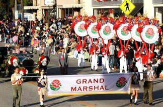 The 2010 Tournament of Roses Parade in Pasadena