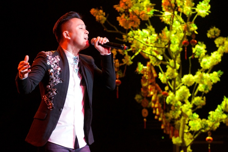 The world's top Vietnamese singers perform for the Paris by Night variety show.