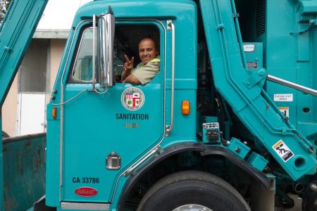 Luis Santana, L.A. city Bureau of Sanitation